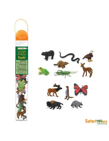 Figurines de l'Europe faune et flore - Tube Safari Ltd® 685504 Safari Ltd® {PRODUCT_REFERENCE}  Tubes et Toob® - 3