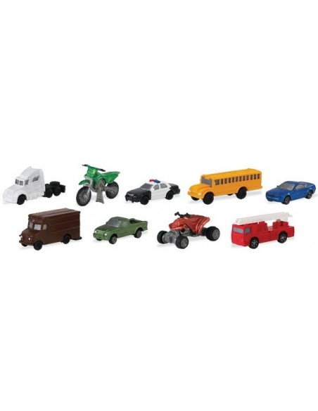 moyens transports routiers figurine educative montessori education