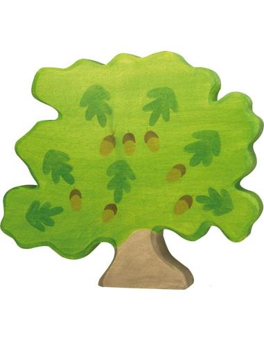 Figurine chene en bois - Animaux des bois Holztiger Holztiger {PRODUCT_REFERENCE}  En Bois - 1