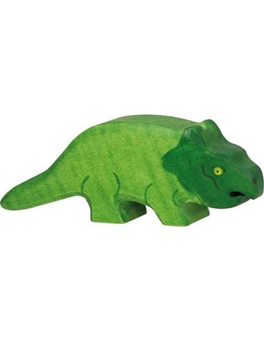Figurine protoceratops en bois - Dinosaure Holztiger Holztiger {PRODUCT_REFERENCE}  En Bois - 1