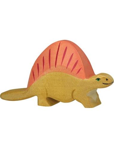 Figurine dimétrodon en bois - Dinosaure Holztiger Holztiger {PRODUCT_REFERENCE}  En Bois - 1