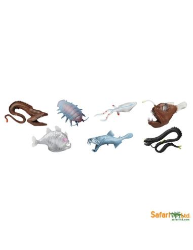 Créatures des mers figurine educative montessori education