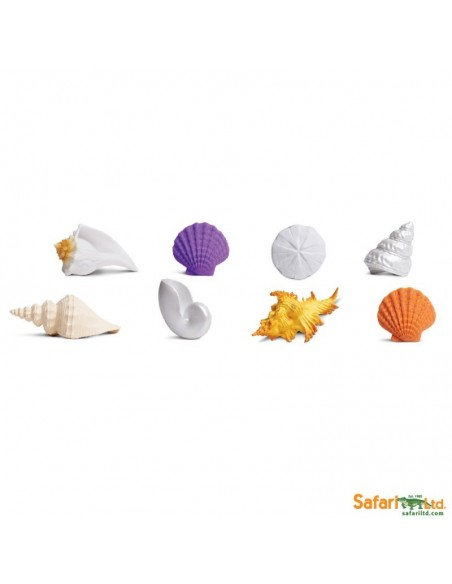 Coquillages figurine educative montessori education
