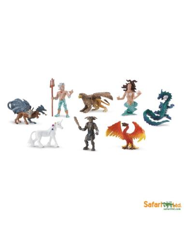 Royaumes mythiques figurine educative montessori education