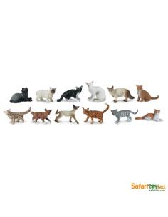 Chats figurine educative montessori education