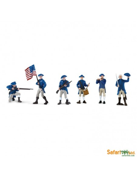 Tube Armée Continentale figurine educative montessori education