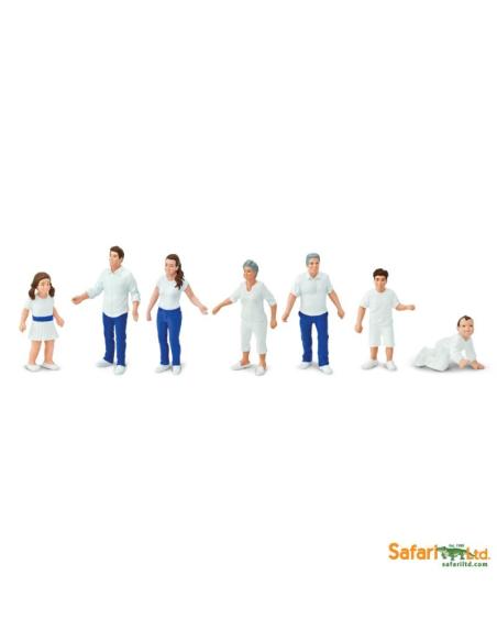 Cycle humain bebe enfant adulte grandFamille figurine educative montessori education papo schleich