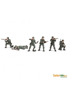 Militaire figurine educative montessori education