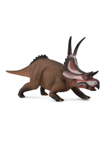 Figurine dinosaure diabloceratops Collecta 88593 Jouet réplique réaliste Collection Préhistorique Jurassic World carte enrichiss