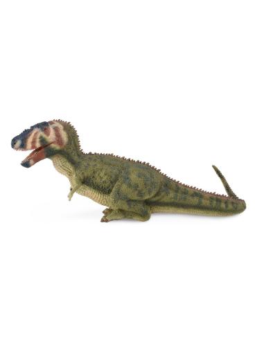 Figurine dinosaure daspletosaurus Collecta 88628 Jouet réplique réaliste Collection Préhistorique Jurassic World carte enrichiss
