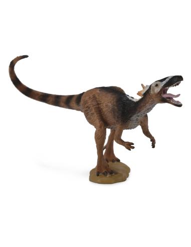 Figurine dinosaure xiongguanlong Collecta 88706 Jouet réplique réaliste Collection Préhistorique Jurassic World carte enrichisse
