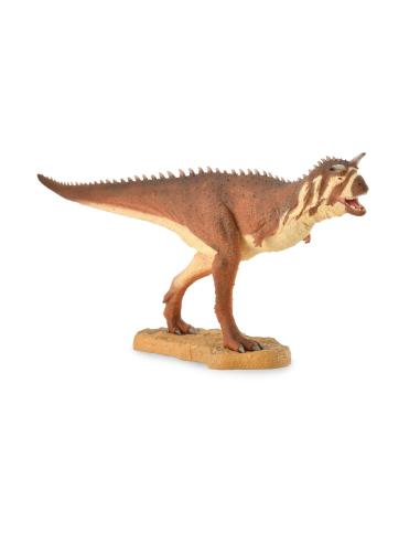 Figurine dinosaure carnotaurus Collecta 88842 Jouet réplique réaliste Collection Préhistorique Jurassic World carte enrichisseme