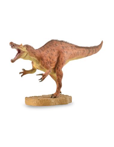 Figurine dinosaure baryonyx avec machoire mobile Collecta 88856 Jouet réplique réaliste Collection Préhistorique Jurassic carte