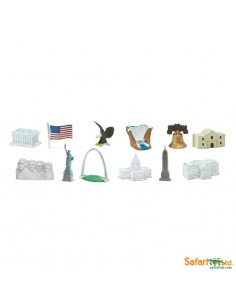 Monument USA figurine educative montessori education enrichissement