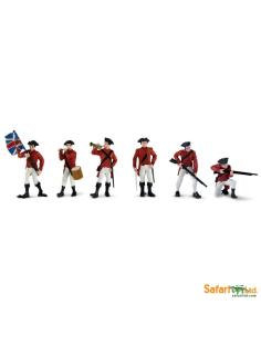Histoire armée Britannique figurine montessori education enrichissement