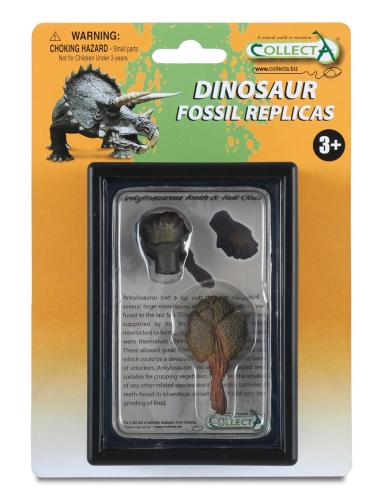 Figurine dinosaure dent et queue d'ankylosaures Collecta 89287 Jouet réplique réaliste Collection Préhistorique Jurassic Wor car