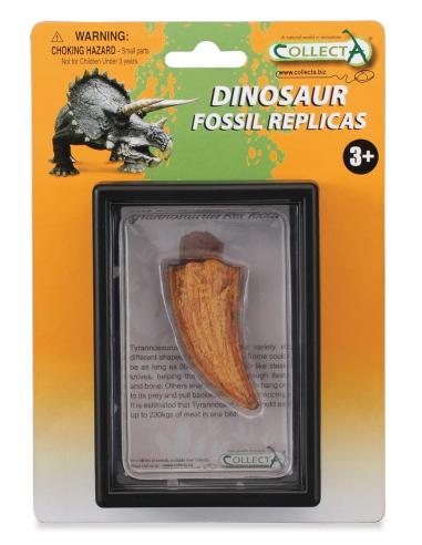 Figurine dinosaure dent latérale t-rex Collecta 89358 Jouet réplique réaliste Collection Préhistorique Jurassic World carte enri