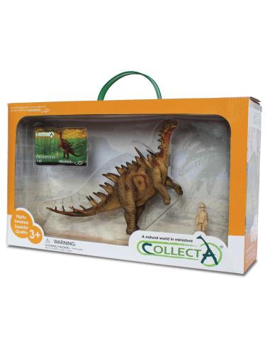 Figurine dinosaure dacentrurus Collecta 89365 Jouet réplique réaliste Collection Préhistorique Jurassic World carte enrichisseme