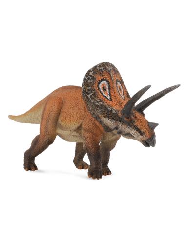 Figurine dinosaure torosaure Collecta 88512 Jouet réplique réaliste Collection Préhistorique Jurassic World carte enrichissement