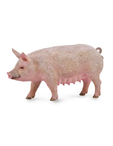 Figurine truie Collecta - Les animaux de la ferme 88863 Collecta {PRODUCT_REFERENCE}  Animaux de la ferme et domestiques - 1