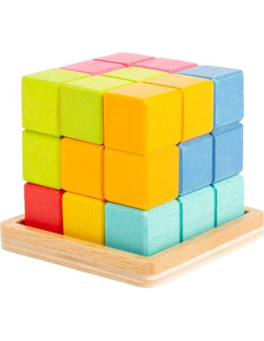 Puzzle 3D cube géométrique - Casse tête logique Small Foot Design {PRODUCT_REFERENCE}  Puzzles - 2