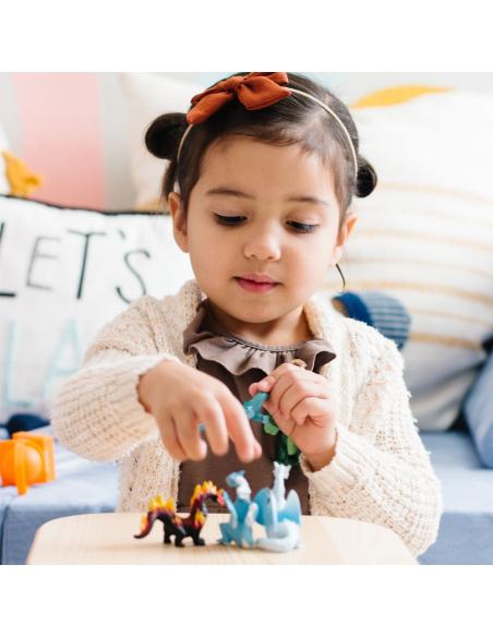 Tube lot de figurines Dragons - Toob Safari 100416 repliques realiste jouet collection