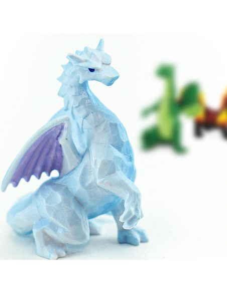 Tube lot de figurines Dragons - Toob Safari 100416