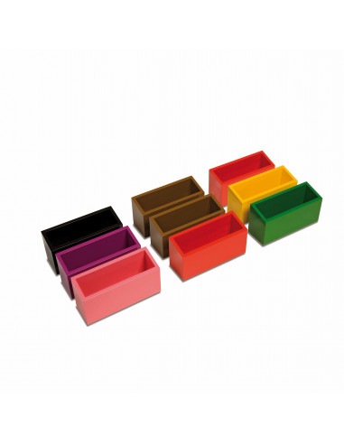 Boites de commande Montessori Nienhuis {PRODUCT_REFERENCE}  Langage - 1