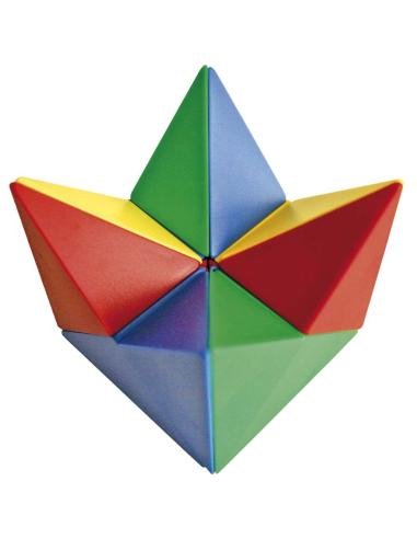 Cube magnétique de 24 pces avec 21 cartes de modèles Autres {PRODUCT_REFERENCE}  Jouets libres et jeux de construction - 5
