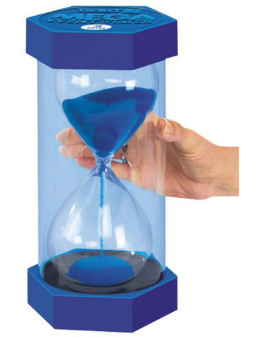 Sablier giga 30 cm 15 min bleu Autres {PRODUCT_REFERENCE}  Heure (temps) - 3