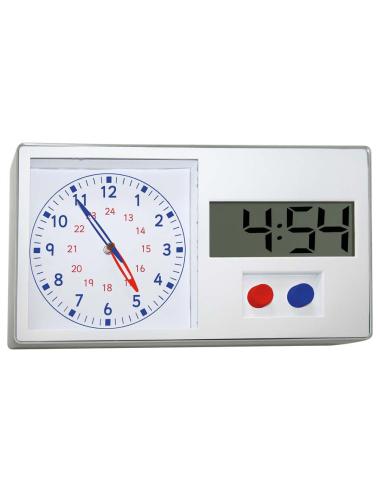 Montre d'apprentissage duale digitale analogique - Horloge éducative Autres {PRODUCT_REFERENCE}  Heure (temps) - 3