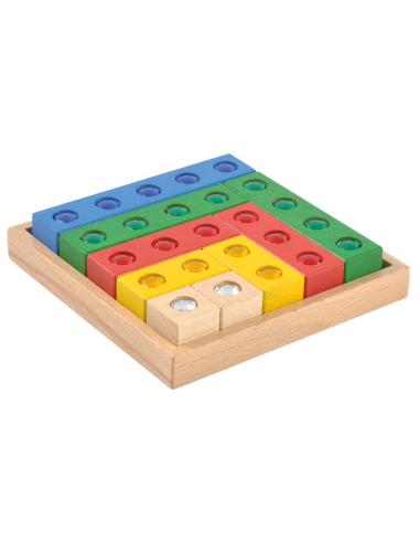 Blocs pierres précieuses - Matériel de mathématiques et de construction Autres {PRODUCT_REFERENCE}  Nombres jusqu'à 20 - 3