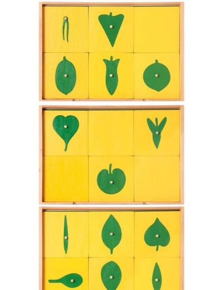 Cabinet botanique zoologie complet Matériel Montessori didactique