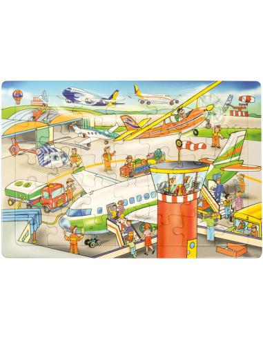 Puzzle Aéroport Autres {PRODUCT_REFERENCE}  Puzzles - 1