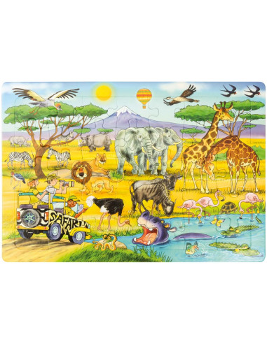 Puzzle Safari Autres {PRODUCT_REFERENCE}  Puzzles - 1