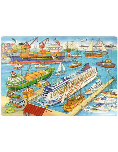 Puzzle Port Autres {PRODUCT_REFERENCE}  Puzzles - 1