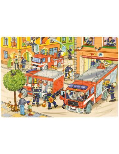 Puzzle Pompiers Autres {PRODUCT_REFERENCE}  Puzzles - 1