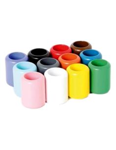 Lot pots crayons bois Montessori materiel didactique langage