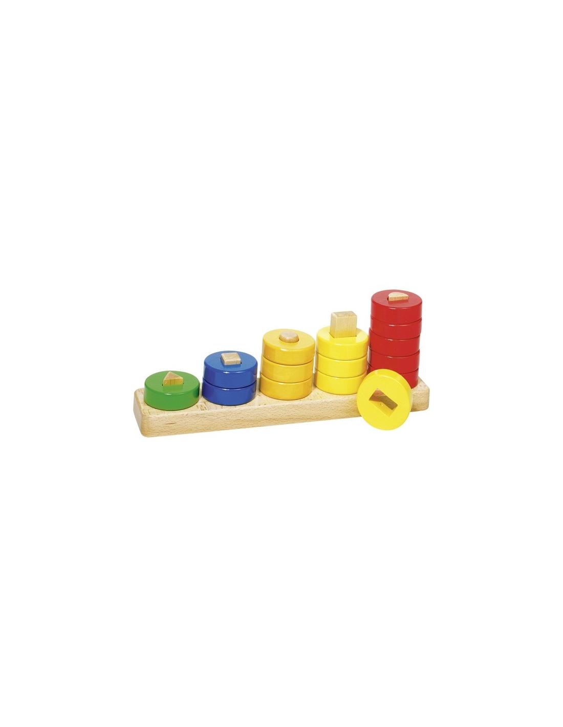 apprendre compter avec des anneaux nido jouet 1er age. Black Bedroom Furniture Sets. Home Design Ideas