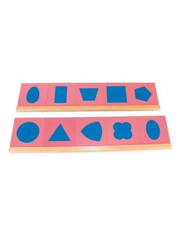 Formes à dessin métal materiel didactique Montessori langage