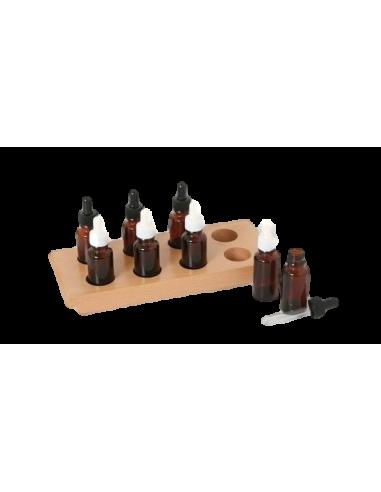 Flacons goûts sensoriel 5 sens montessori materiel didactique