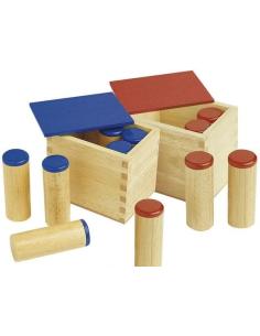 Boîtes des sons sensoriel montessori materiel didactique