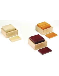 Tablettes barriques montessori materiel didactique sensoriel
