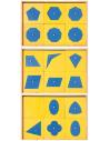 Cabinet géométrie triangle matériel montessori didactique activité maths