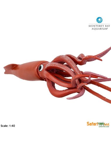 Calmar Géant XL 45,5cm figurine educative enrichissement montessori