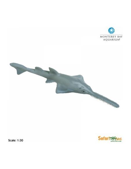 Figurine poisson-sciegéant Safari 211902 Matériel pédagogique Enrichissement Montessori Jouet Cartes maternelle science vocabul