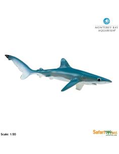 Requin bleu XL figurine educative enrichissement montessori