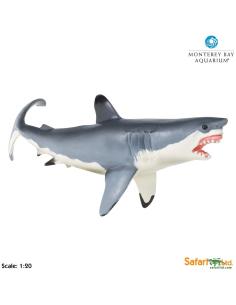 Grand Requin blanc XL figurine educative enrichissement montessori