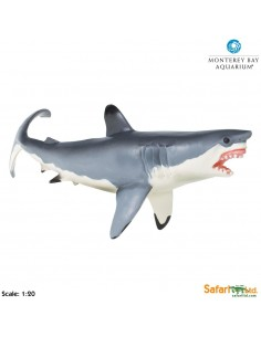 Grand Requin blanc XL figurine educative enrichissement montessori