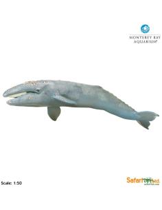 Baleine Grise XL figurine educative enrichissement montessori